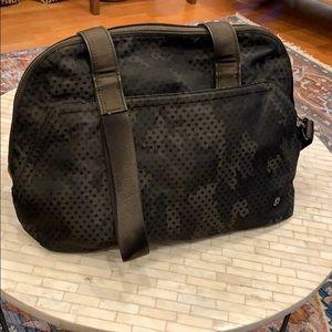 Lululemon Camo Messenger Bag